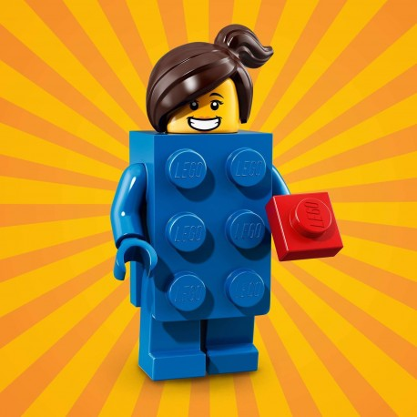 18003 LEGO Minifigurki 71021 - Dziewczyna w stroju klocka LEGO®