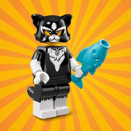 18012 LEGO Minifigurki 71021 - Dziewczyna w kostiumie kota