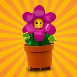 18014 LEGO Minifigurki 71021 - Dziewczynka w stroju doniczki kwiatów