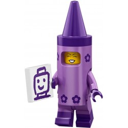 93005 LEGO Minifigurki 71023 - Kredkowa dziewczyna