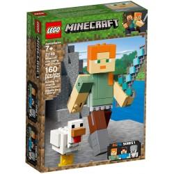 21149 Minecraft BigFig – Alex z kurczakiem - wypożyczenie