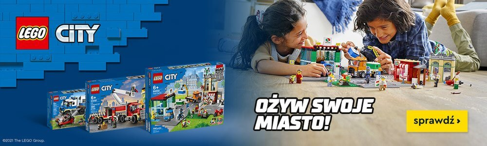 Lego City Ożyw swoje miasto - baner