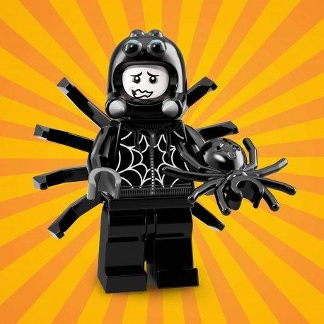 18009 LEGO Minifigurki 71021 - Chłopiec w stroju pająka