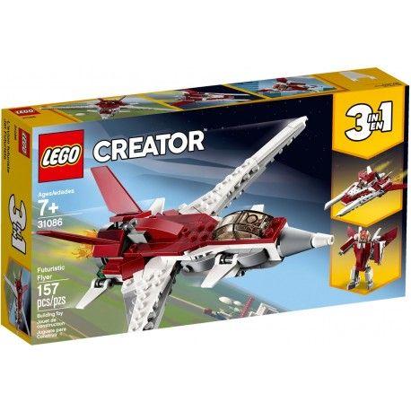 31086 Futurystyczny samolot