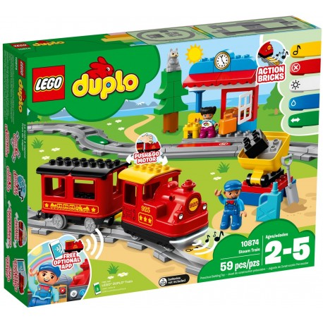 10874 Pociąg parowy