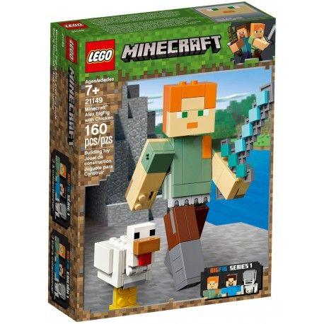 21149 Minecraft BigFig – Alex z kurczakiem
