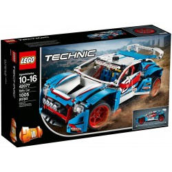42077 Niebieska wyścigówka