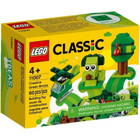 11007 Zielone klocki kreatywne
