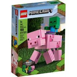 21157 Minecraft BigFig - Świnka i mały zombie