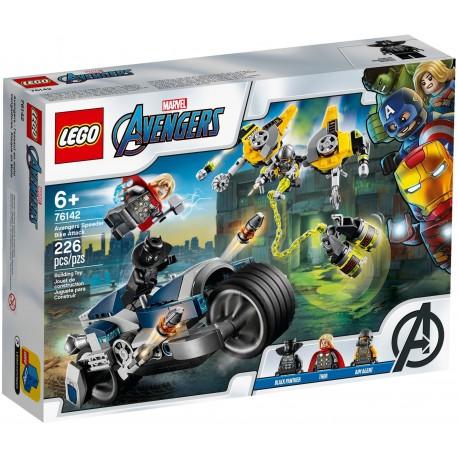76142 Avengers: Walka na motocyklu