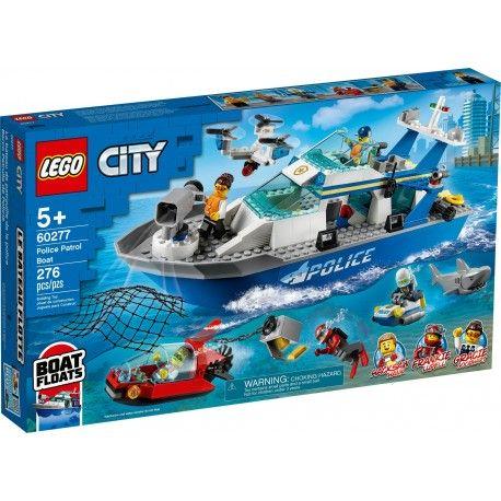 60277 Policyjna łódz patrolowa