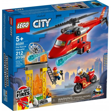 60281 Strażacki helikopter ratunkowy